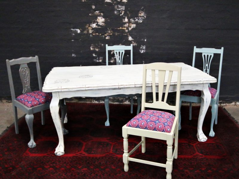 Ball and Claw Dining Table