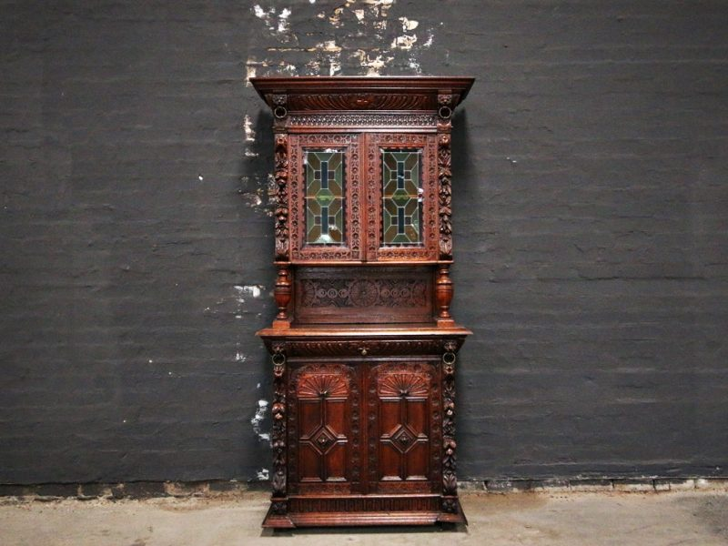 Antique Handcarved Sideboard