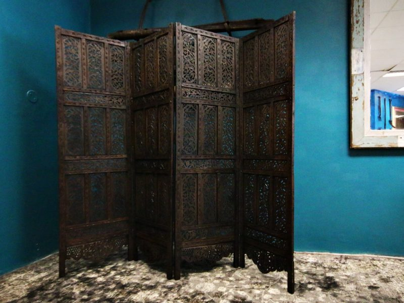Antique Carved Room Divider
