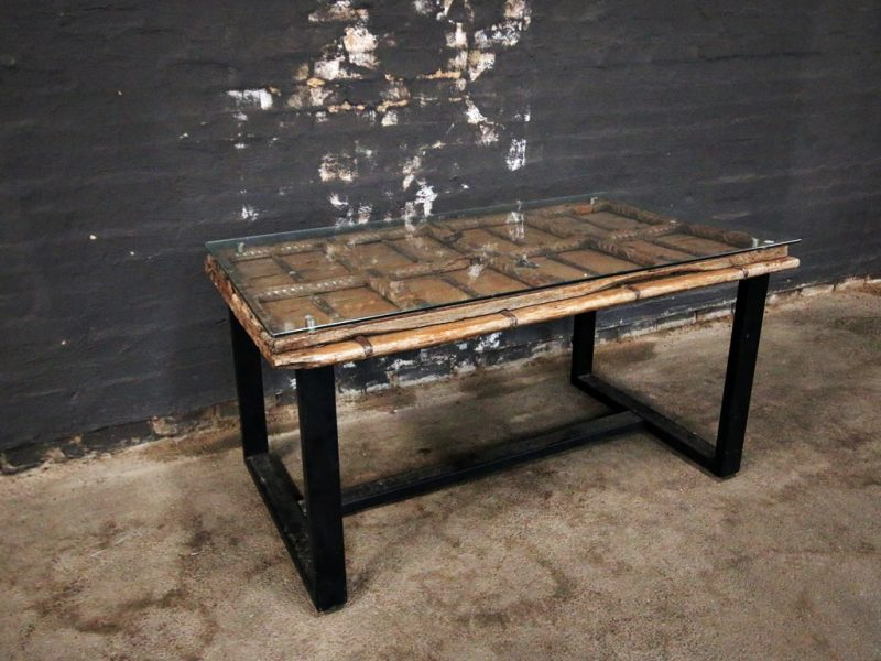 Indian Antique Door Dining Table