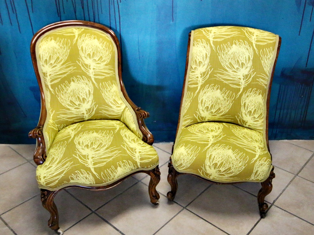 Victorian Grandmother Amp Grandfather Chair Kings Amp Queens
