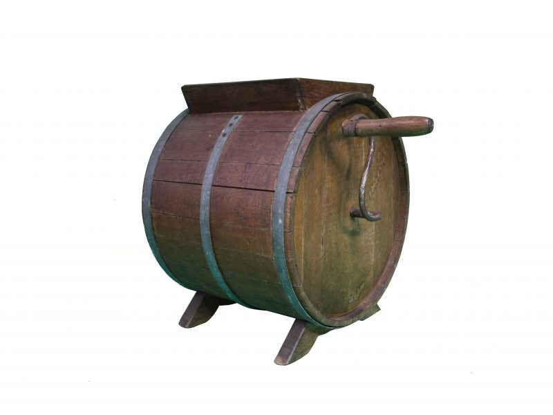 Wood-Butter-Churn