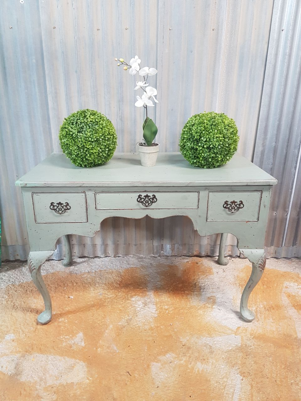 Victorian Painted Writing Desk