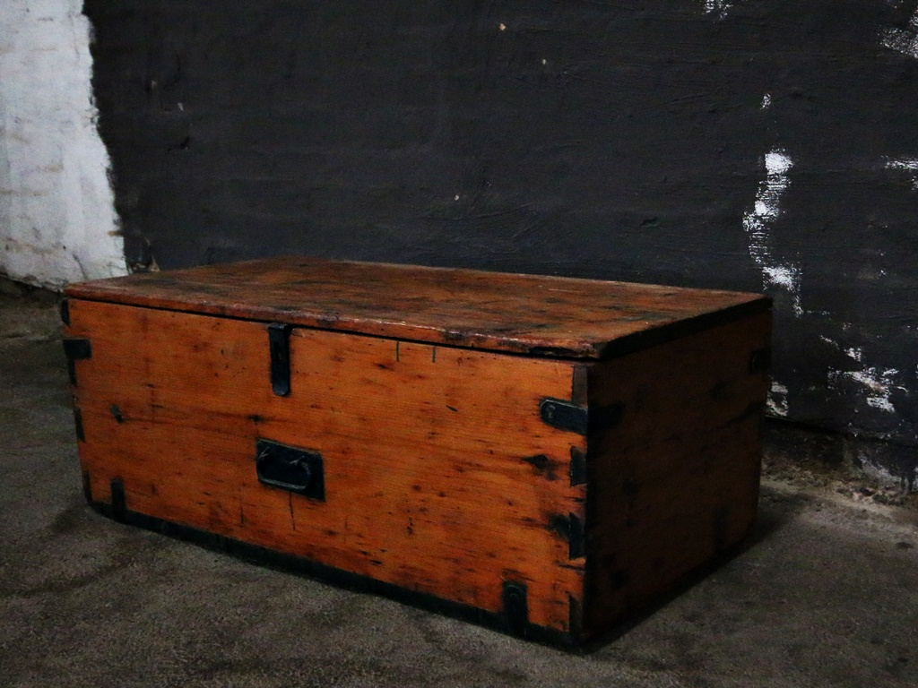 Old Wooden Kist 2 Kings Amp Queens Antiques Buy Antiques